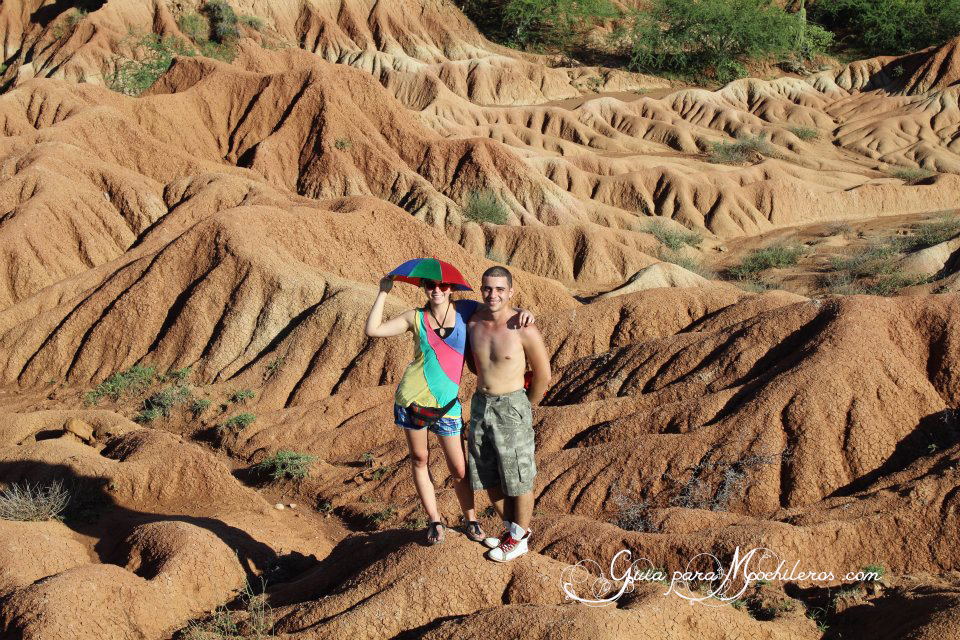 jhon e isa en el desierto de la tatacoa