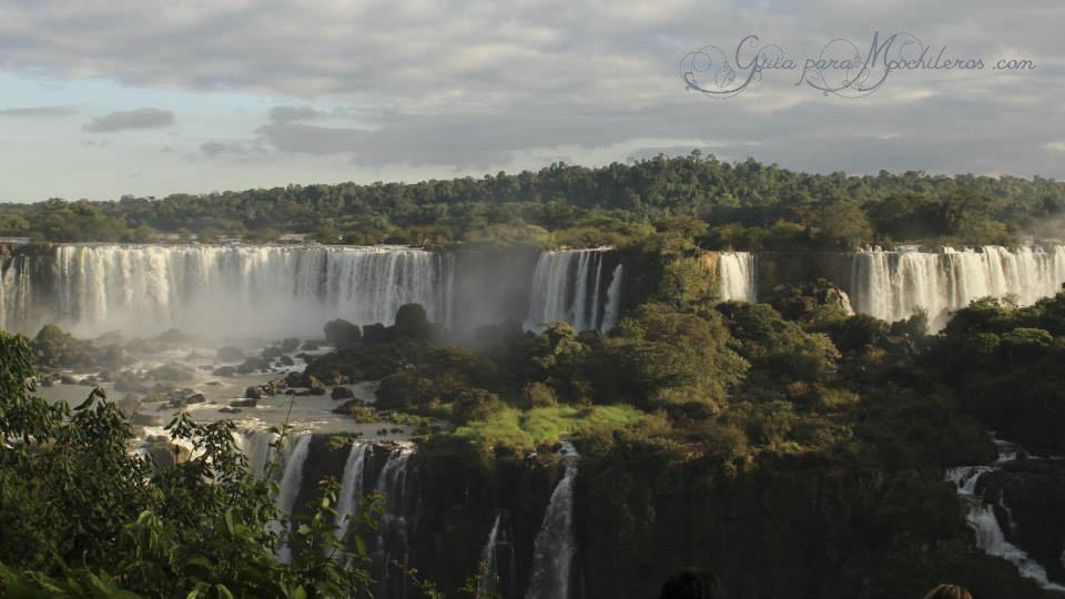 Cataratas desde Brasil