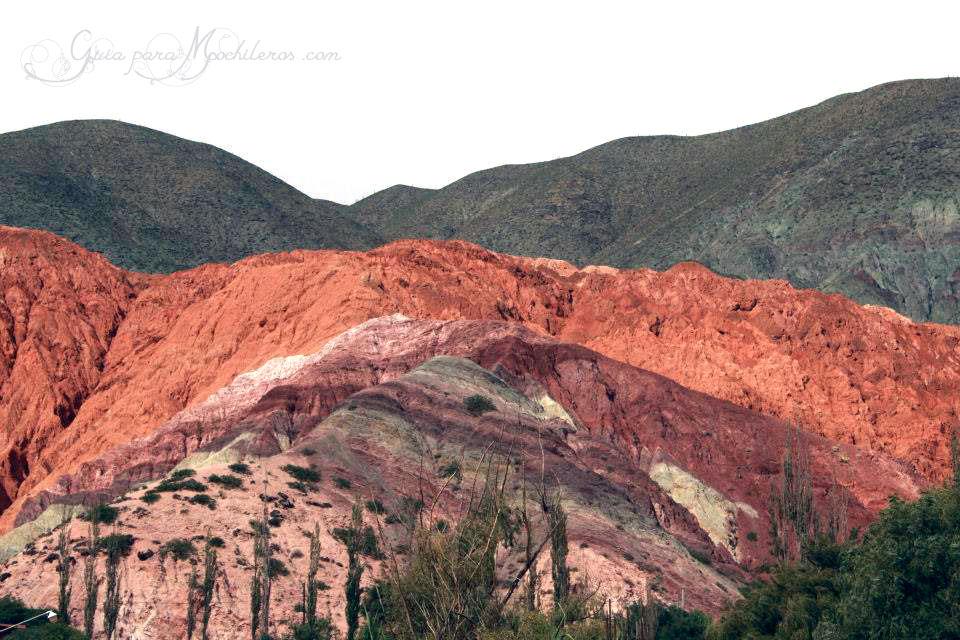 Mochileros en el norte de Argentina