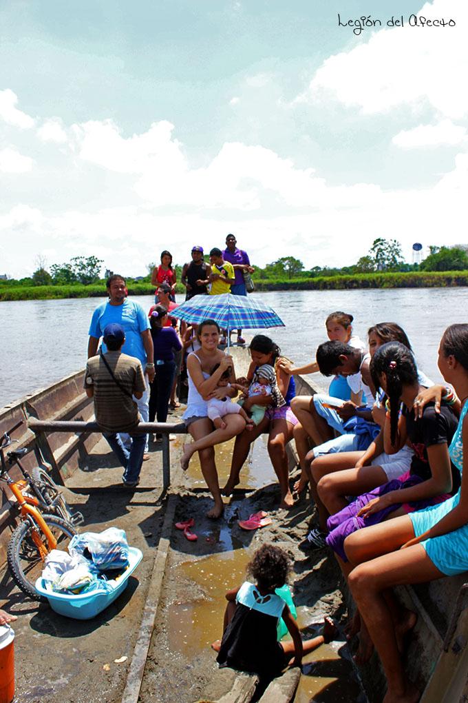 Viaje a pie por el Río Magdalena en Barrancabermeja