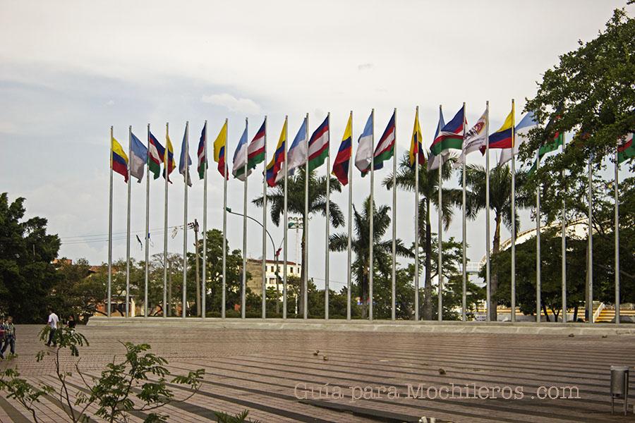 Parque de las banderas