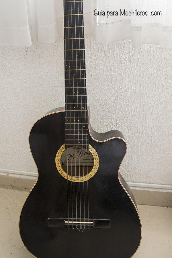 guitarra para viaje
