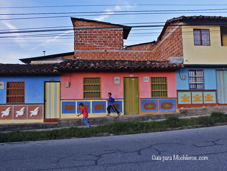 Casas de Colores en Guatapé