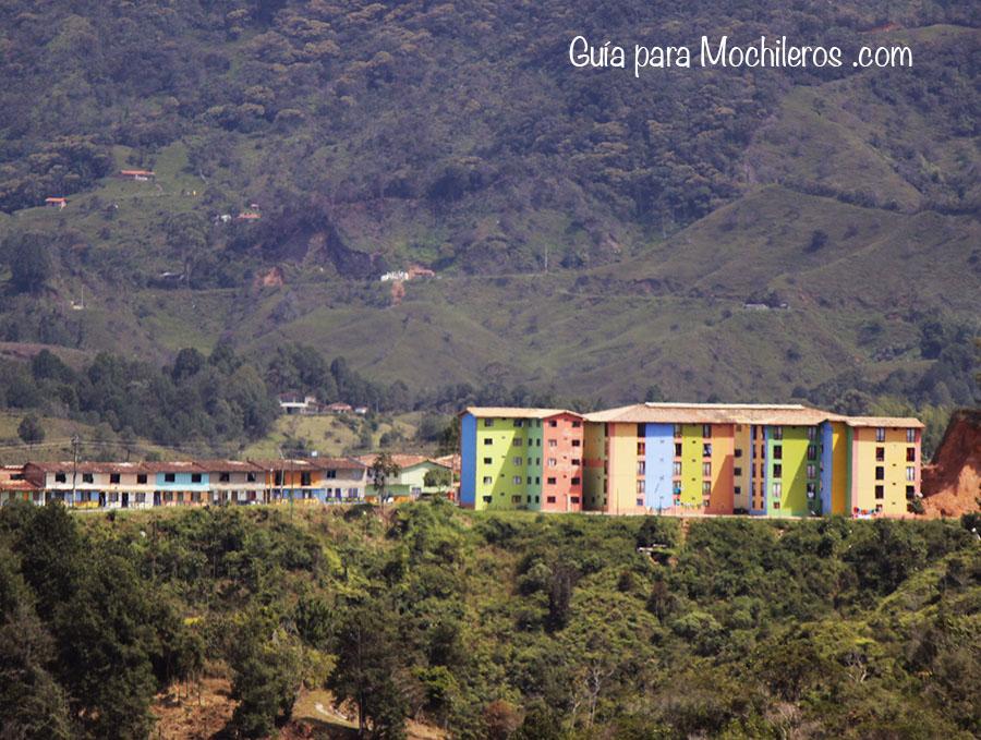 Edificios de colores Guatapé