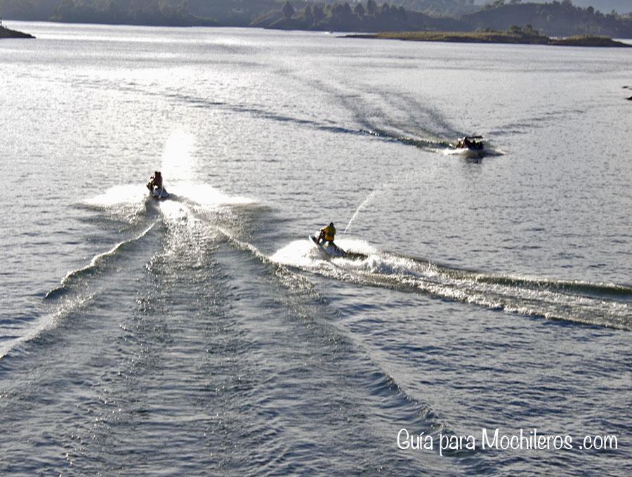 jet ski en Guatapé