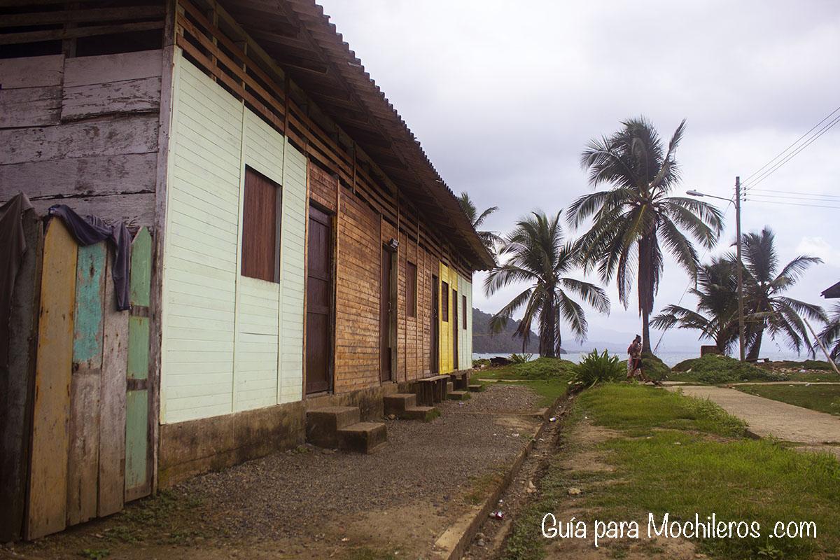 casas de Puerto Obaldía