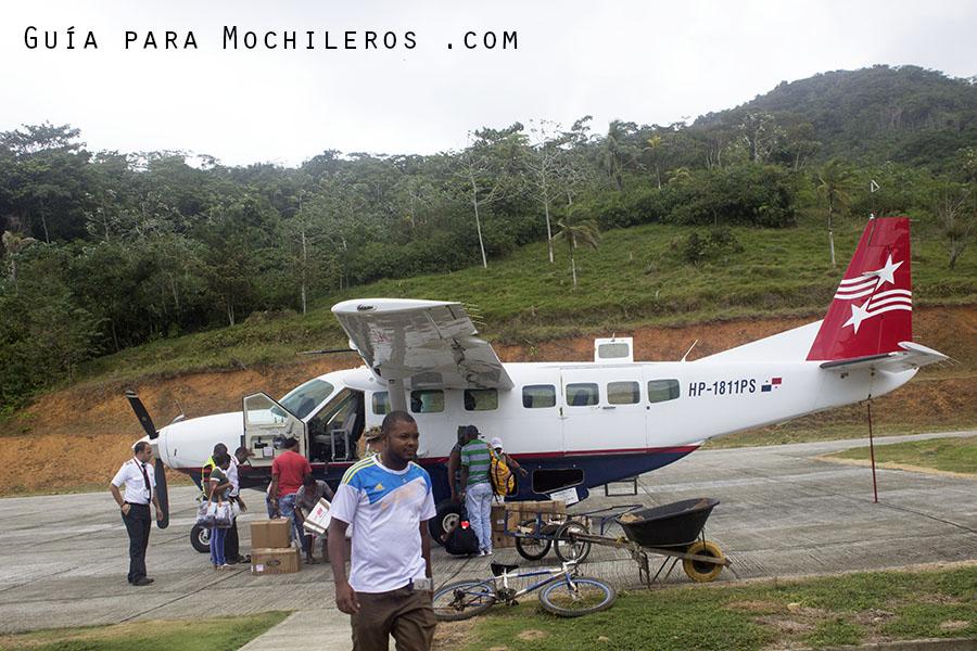 Avioneta Puerto Obaldía Panamá