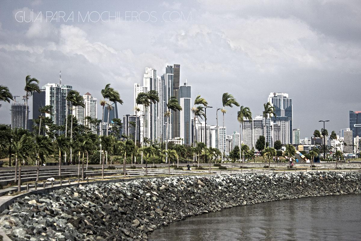 Cinta costera de Ciudad de Panamá