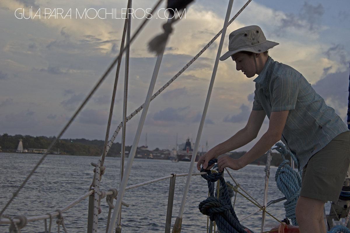 amarrar velero