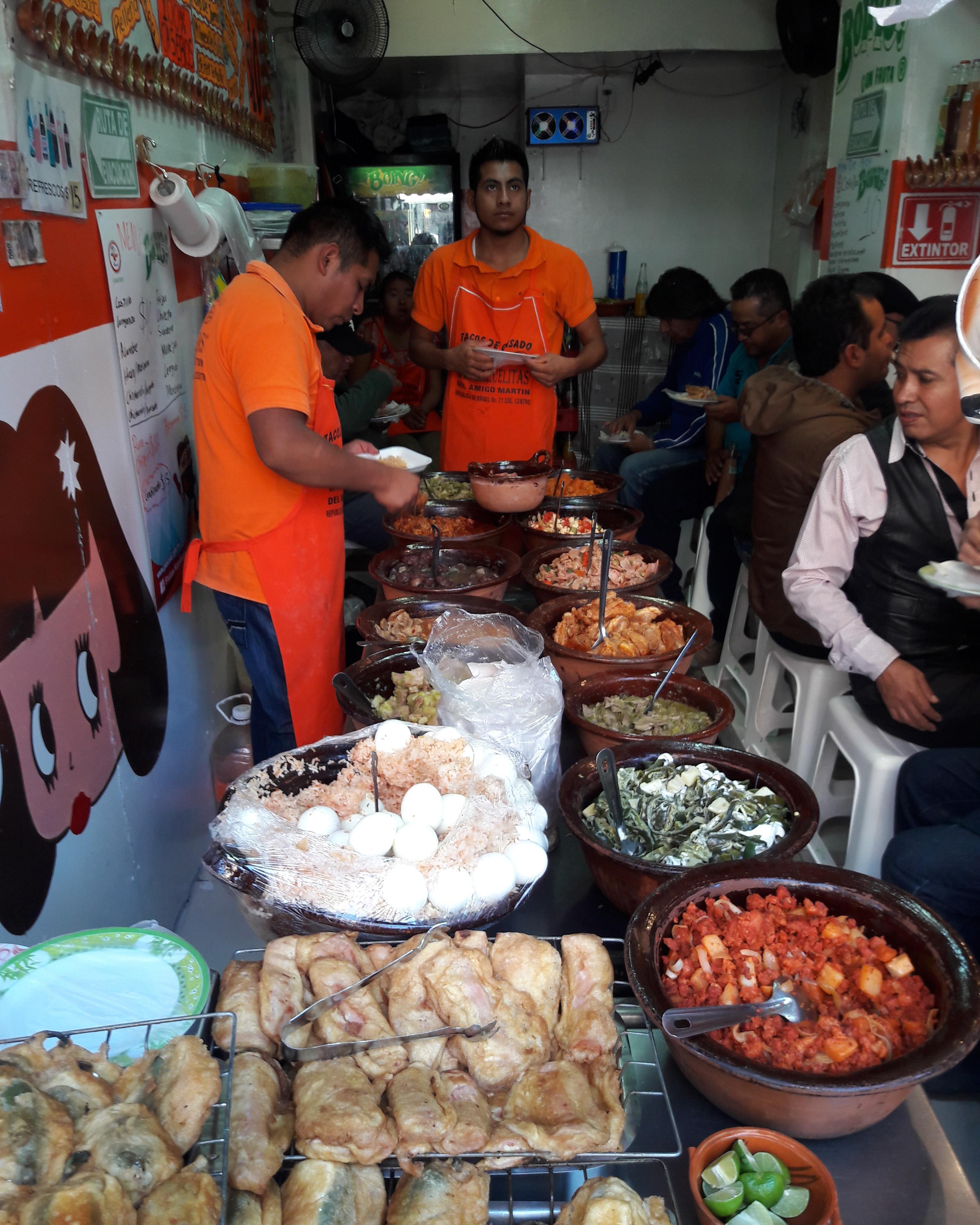 Tacos de Guisado en Ciudad de Mexico