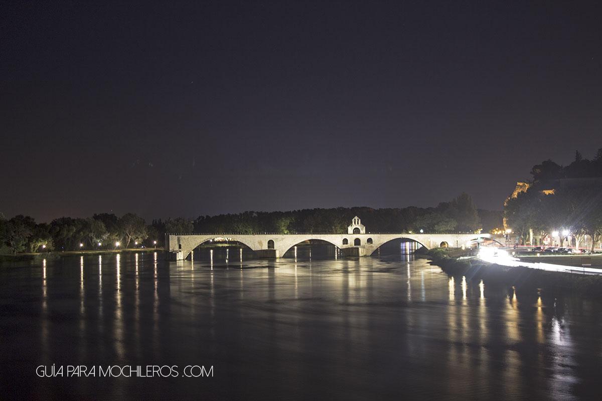 Puente de Avignon, Francia