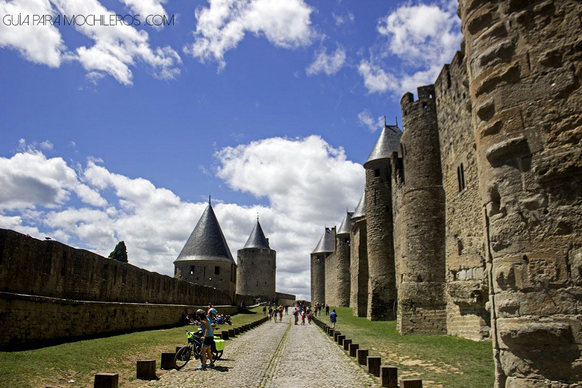 Castillo de Carcasona, Francia