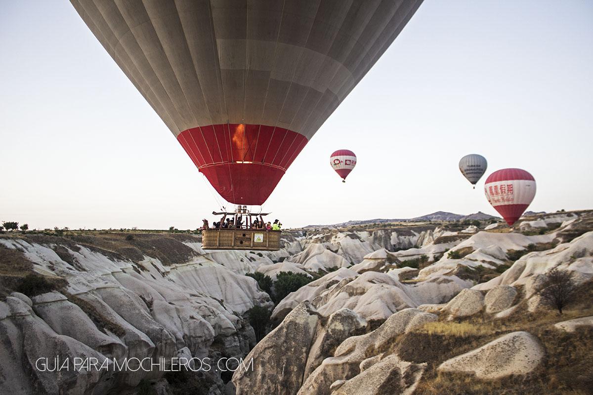 Canastas de los globos
