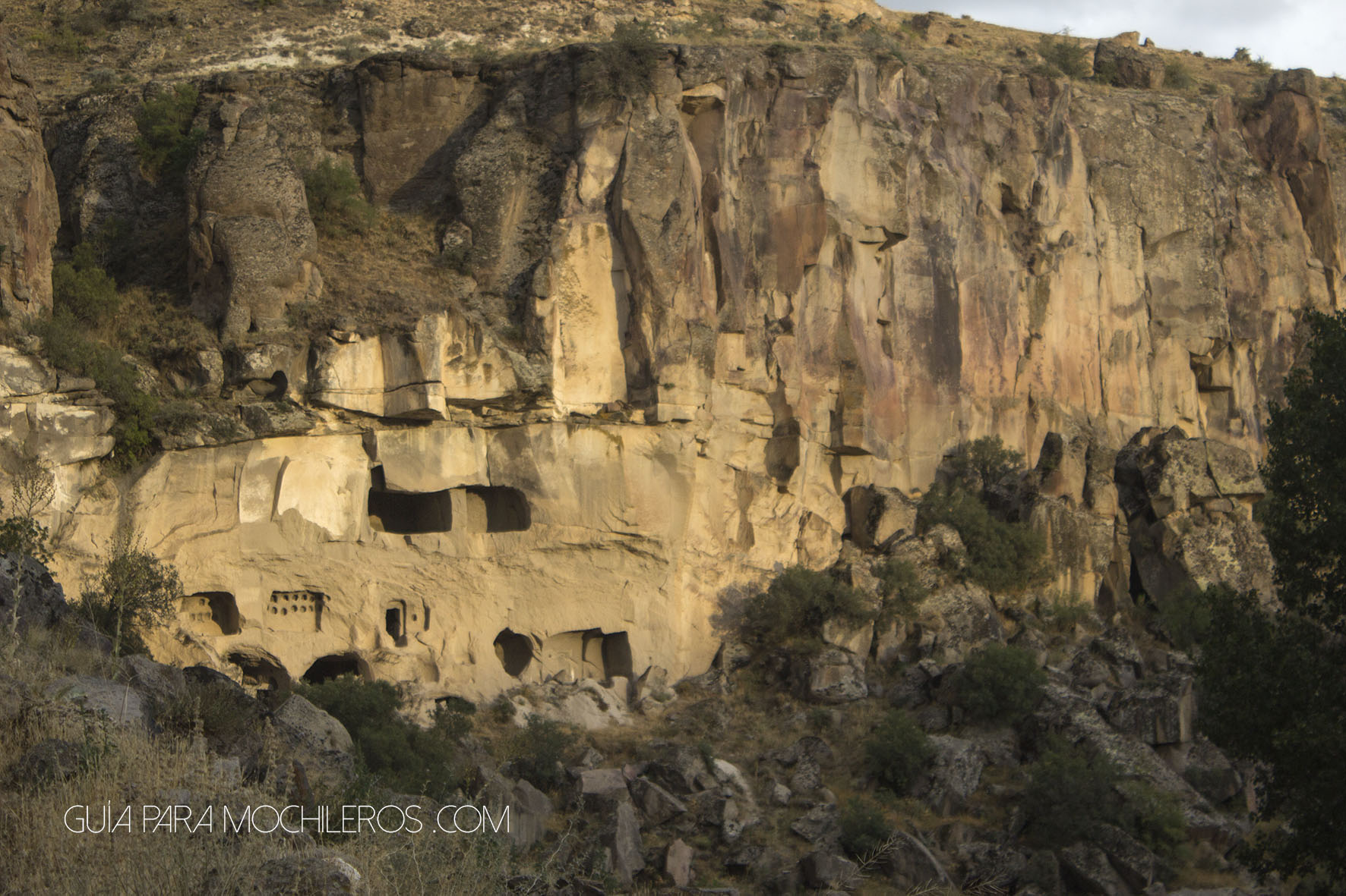 Cuevas en Ihlara Valley