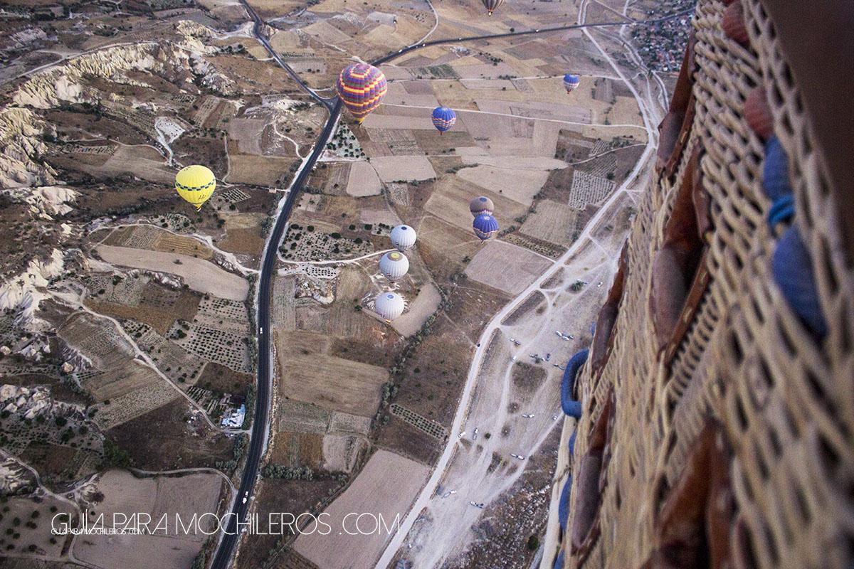 Montar en globos en Capadocia