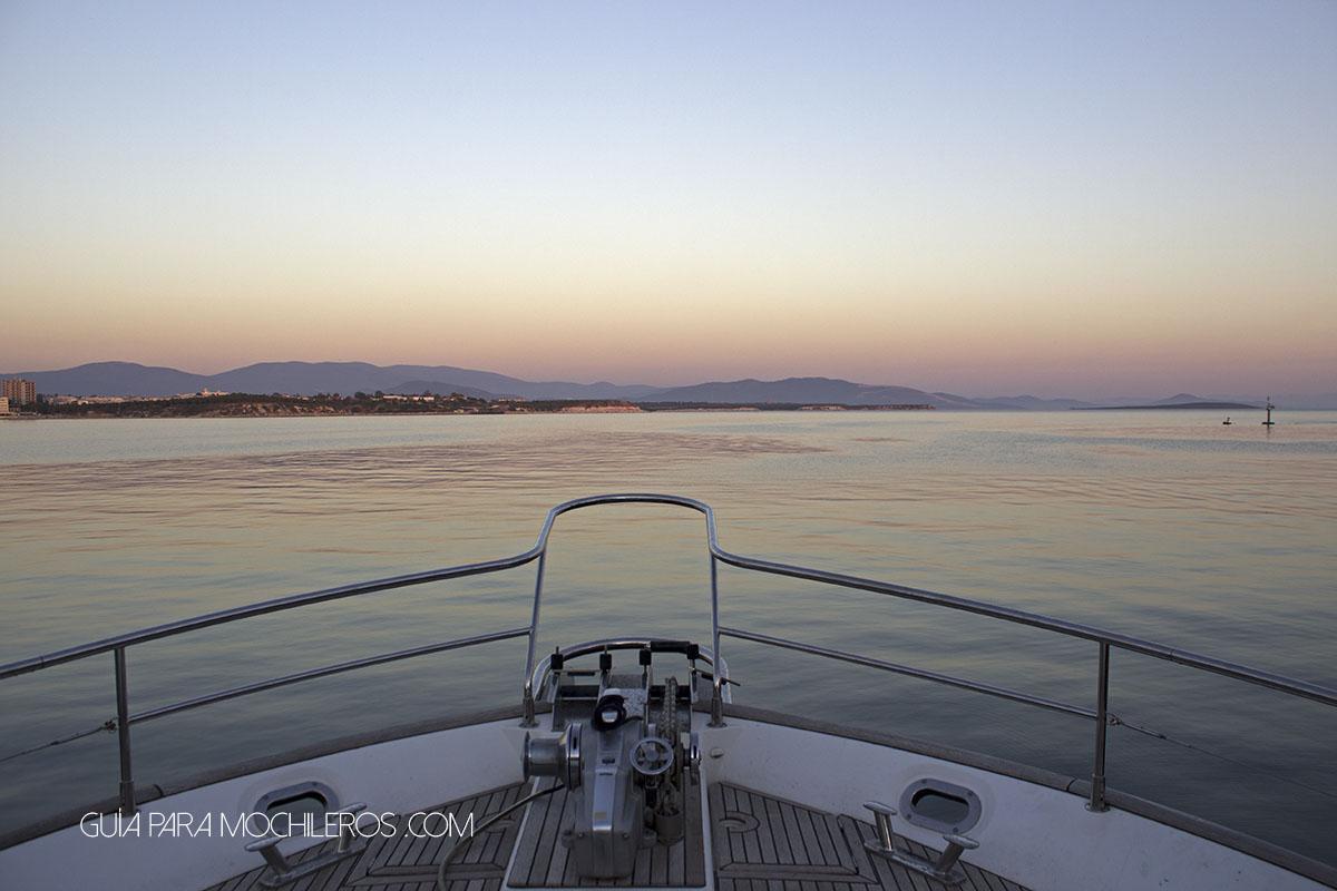 Viajar gratis en barco