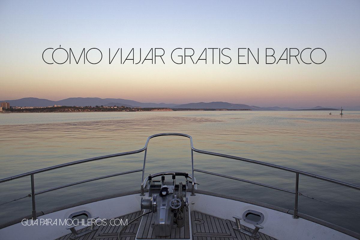 Viajar gratis en barco- Barcoestop
