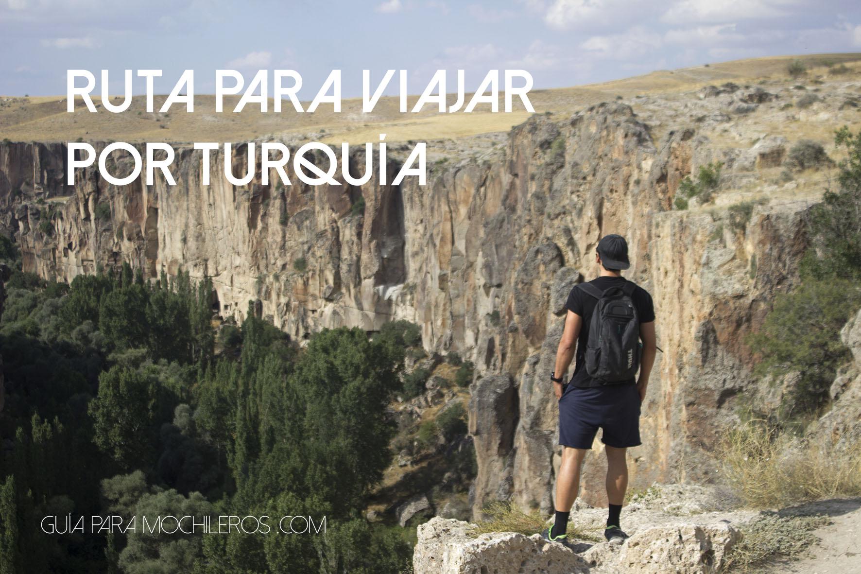 Ruta para viajar por Turquía