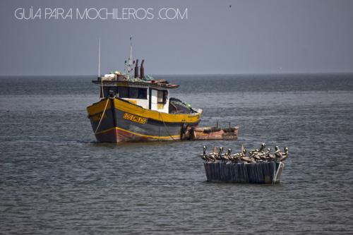 Barco de pesca en Ciudad de Panamá
