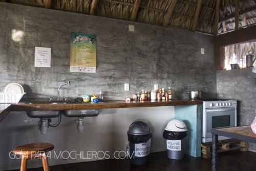Cocina Puerto dreams Hostel