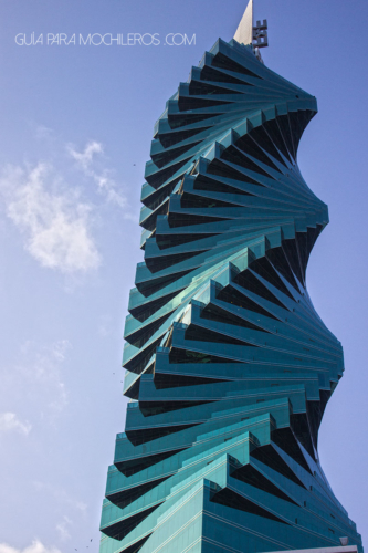 Edificio tornillo Panamá