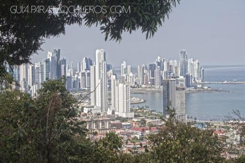 Panamá desde el cerro de Ancón