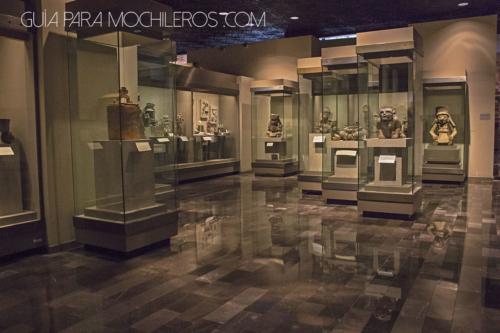 Sala del Museo de Antropología de Mexico