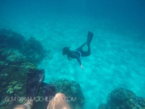 careteo o snorkeling