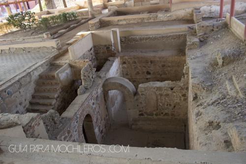 habitacion subterranea romana
