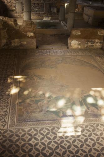mosaico casa de mitreo