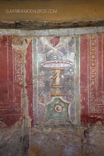 murales candelabros romanos merida