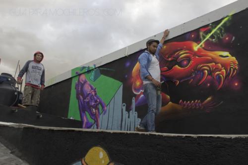 murales mexicanos hostal